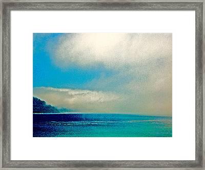 Ano Nuevo Fog 2 Framed Print