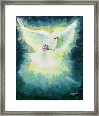 Anointed Framed Print