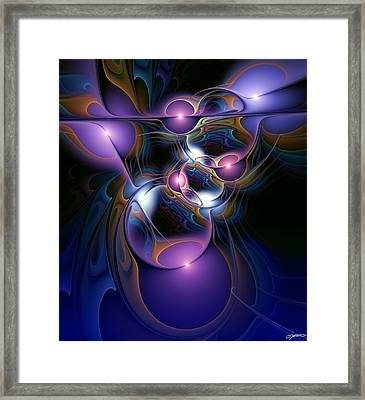 Anointment Framed Print