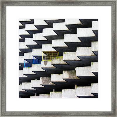 Anomaly Framed Print by Alan Todd