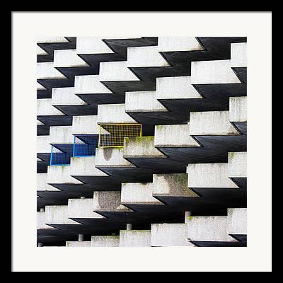 Undulating Framed Prints