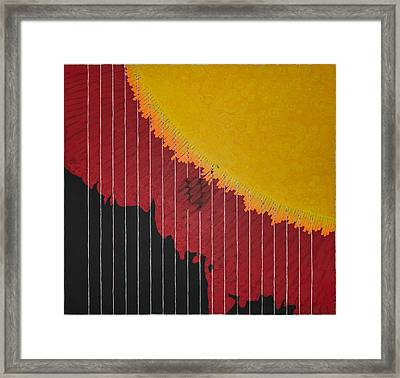 Anomaly At The Sun Framed Print