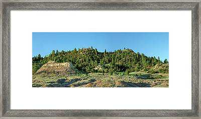 Anonymous Ridge Framed Print by Todd Klassy