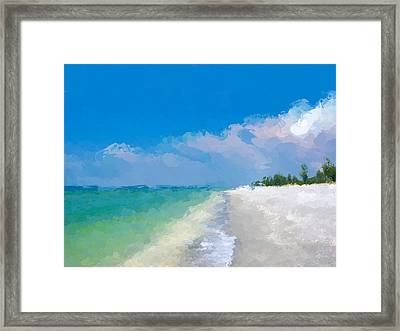 Another Beach Day Framed Print