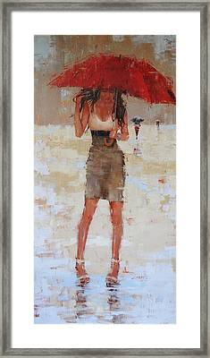 Another Big Red Framed Print