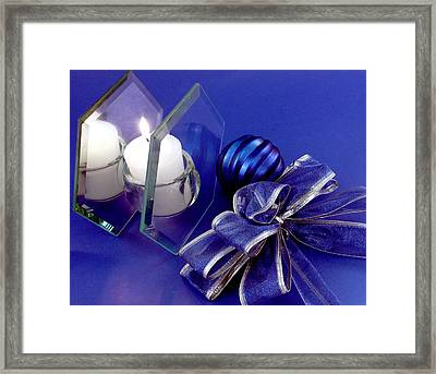 Another Blue Christmas Framed Print