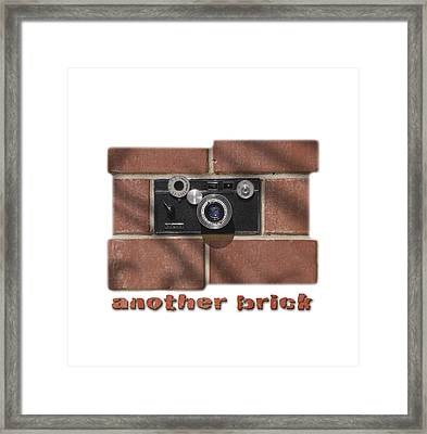 Another Brick . . 2 Framed Print by Mike McGlothlen