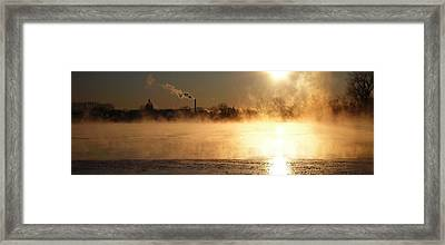 Another Cold Day Framed Print