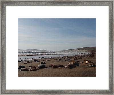 Another Day Another Footprint Framed Print