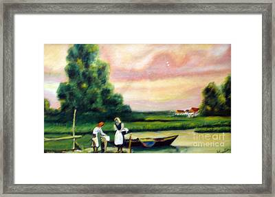 Another Day Framed Print by Cilinha