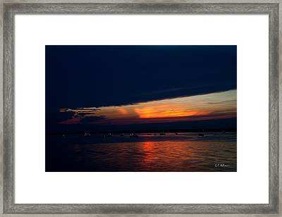 Another Day Down Framed Print by Christopher Holmes