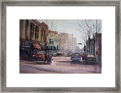 Another Day In Fond Du Lac Framed Print by Ryan Radke