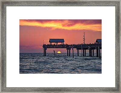 Another Day In Paradise On Clearwater Beach Framed Print by Bill Cannon
