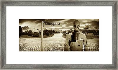 Another Day In Suburbia Framed Print by Jorgo Photography - Wall Art Gallery