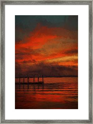 Another Day Is Done 2 Framed Print by Dave Bosse