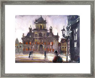 Another Day Framed Print by Kristina Vardazaryan