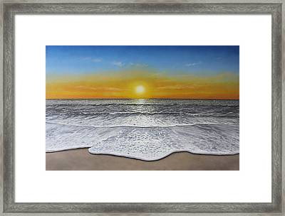 Another Day Framed Print by Paul Newcastle