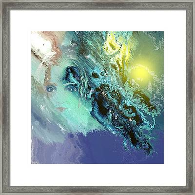 Another Dimension Framed Print by Patricia Motley