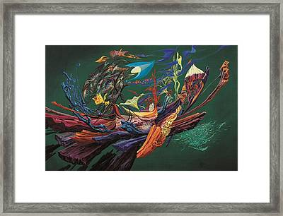 Another Flight Of Fancy Framed Print