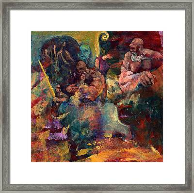 Another Forced Rescue Framed Print by David Matthews