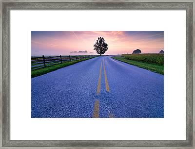 Another Gettysburg Morning Framed Print