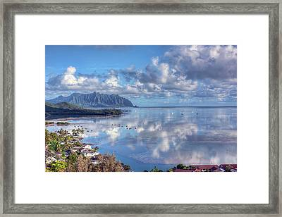 Another Kaneohe Morning Framed Print by Dan McManus