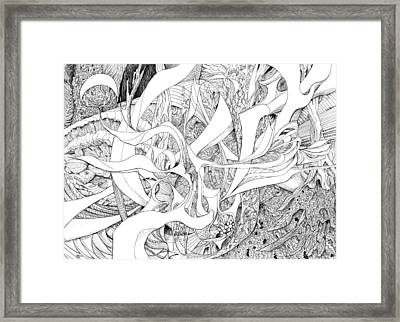Another Kind Of Peace Framed Print