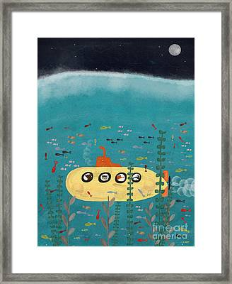 Framed Print featuring the painting Another Little Advenutre by Bri B