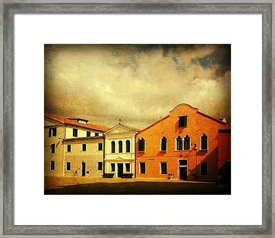 Another Malamocco Day Framed Print by Anne Kotan