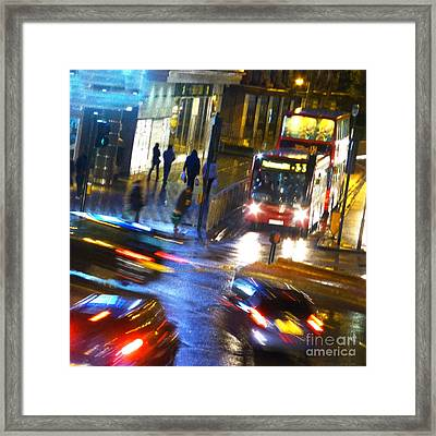 Framed Print featuring the photograph Another Manic Monday by LemonArt Photography