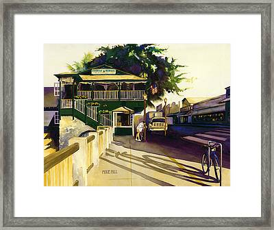 Another Morning In Maui Framed Print by Mike Hill