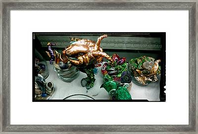 Another Octopus Framed Print