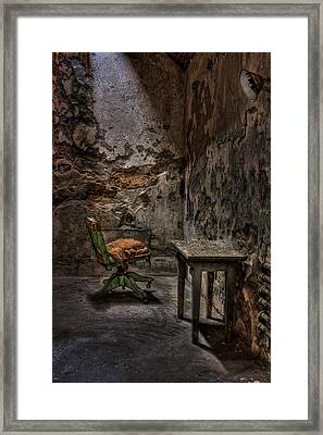 Another One Bites The Dust Framed Print by Evelina Kremsdorf