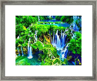 Framed Print featuring the photograph Another Peaceful Day by Kathy Tarochione