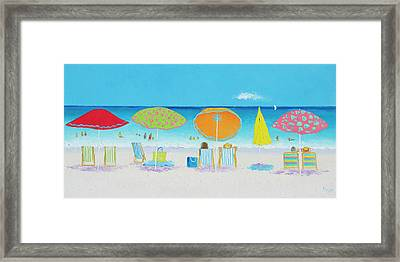 Another Perfect Beach Day Framed Print