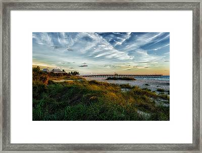 Another Perfect Day Comes To A Close Framed Print