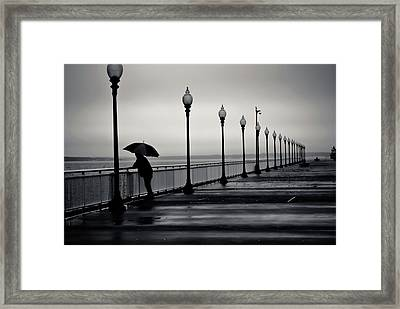 Another Rainy Day Framed Print by Girardi Santiago
