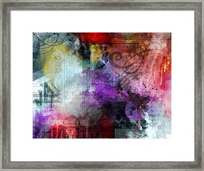 Another Realm Framed Print by Lindsey Cormier