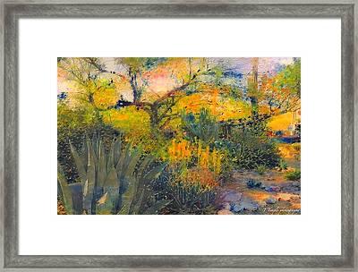 Another Renoir Moment Framed Print