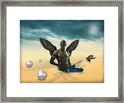 Another Side Of Dream 2 Framed Print by Mark Ashkenazi