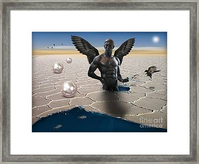 Another Side Of Dream Framed Print