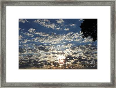 Another Southern Sunrise Framed Print by Jan Gelders