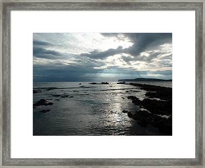 Another Storm Passes Framed Print