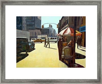 Another Summer In Manhattan Framed Print