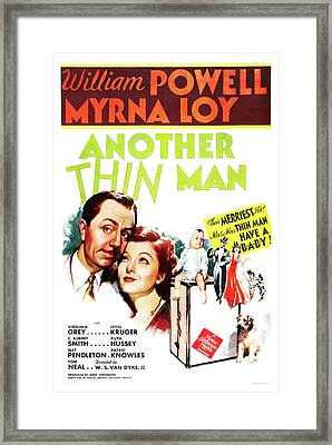 Another Thin Man 1939 Framed Print by M G M