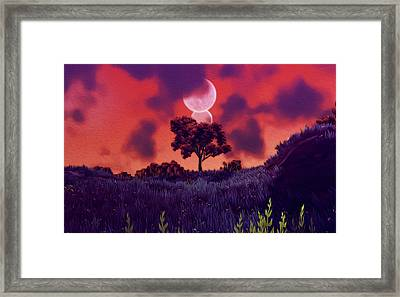 Another Time Another Space Framed Print by Andrea Mazzocchetti