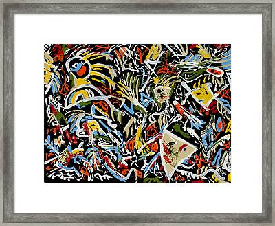 Another Trip To The Enchanted Forest Framed Print by Wayne Salvatore