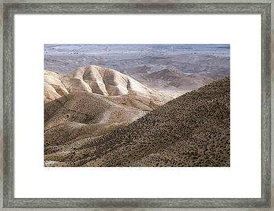 Another View From Masada Framed Print