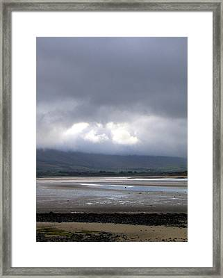 Another View From Strandhill Beach Ireland Framed Print by Amy Williams