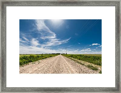 Another West Texas Sky Framed Print by Nathan Hillis